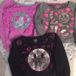 Halter Girls Sweatshirt tops bundle